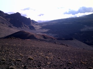 From Inside Haleakala crater, Hawaii