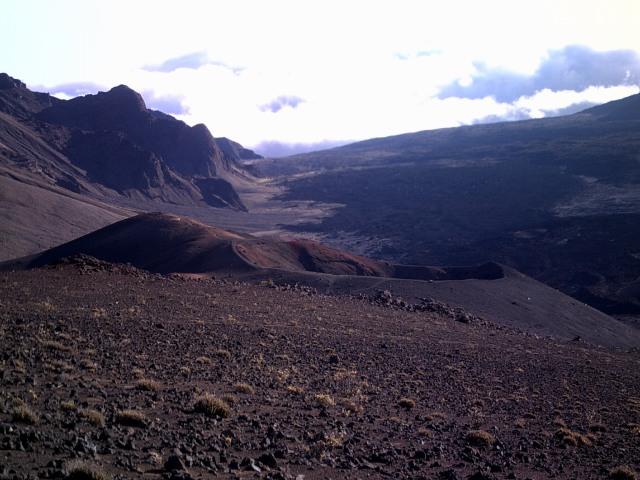 From Inside Haleakala